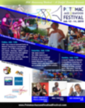 Potomac Jazz and Seafood Festival Poster