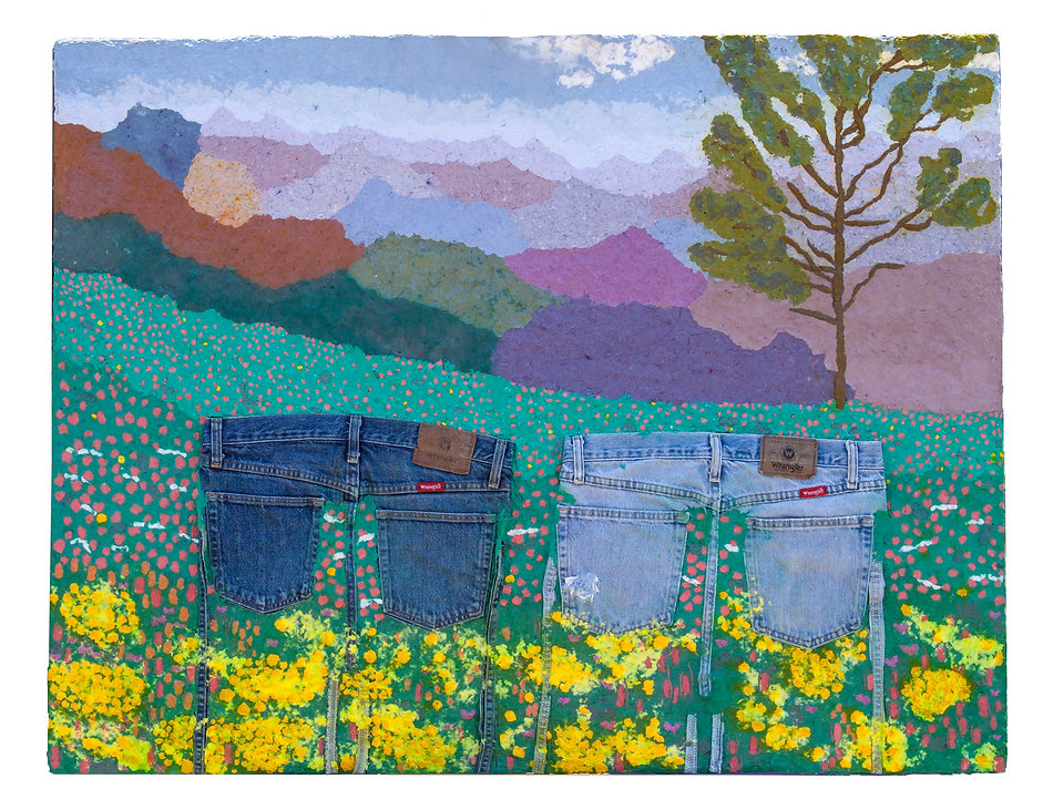 Jeans 14 Flower Fields