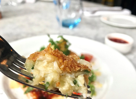 Lunching this August? Why not try our Devon Crab Cake to wow your guests