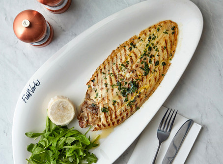THE GOOD FRIDAY FISH FEAST: Grilled Dover Sole with Lemon and Caper Dressing