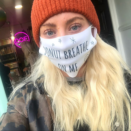 "Face Mask ""Donut Breathe On Me"""