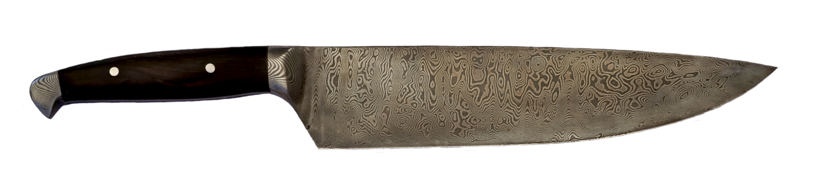 Damastkochmesser Vollintegral