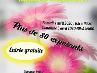 Salon des artisans du printemps 2020