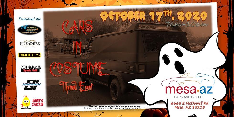 Mesa Cars & Coffee - Cars in Costume Theme