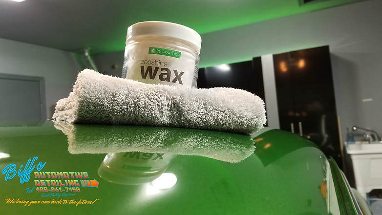Automotive Detailing Products wax polish
