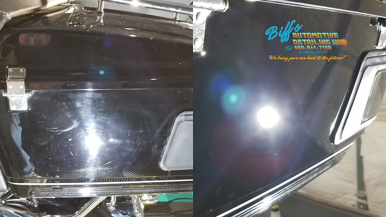 Paint Correction Buffing Paint Scratch Removal