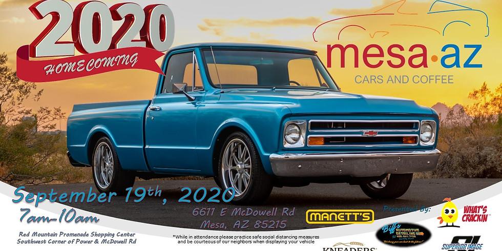 Mesa Cars & Coffee - Homecoming 2020