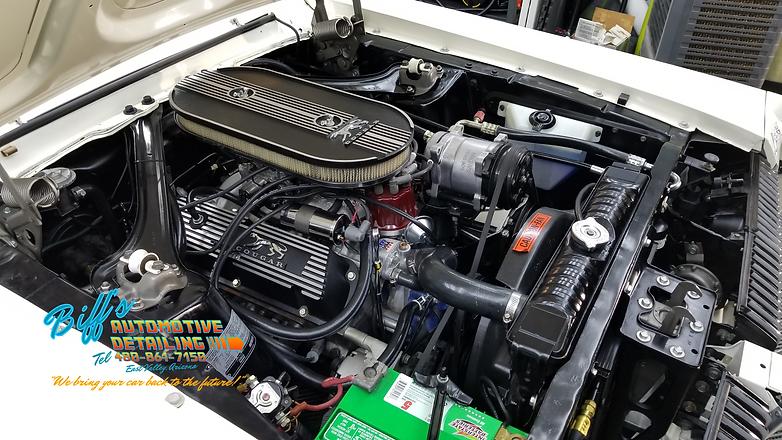 Engine Bay Detailing Motor Cleanup