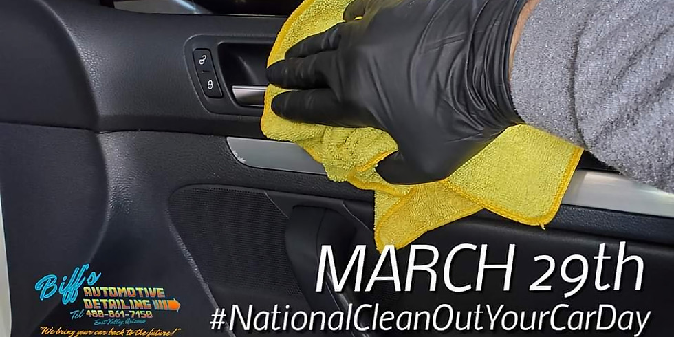 National Clean Out Your Car Day