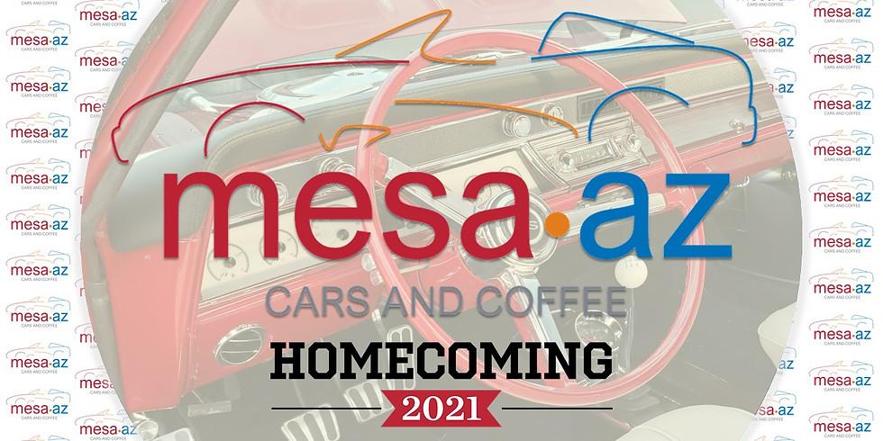 Mesa Cars & Coffee - 2021 Homecoming