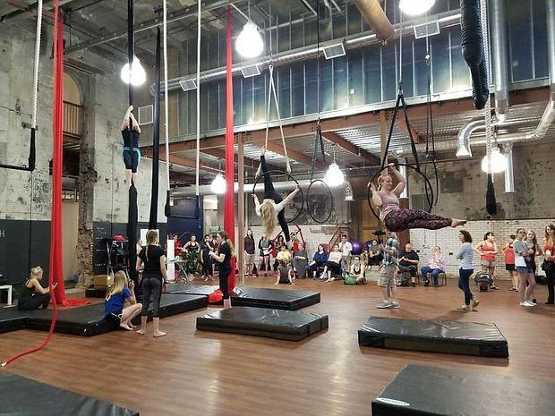 Iron City Circus Arts Open Gym - Aerial Silks, Lyra