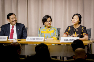 LIVI ZHENG AND MANAGING DIRECTOR OF THE WORLD BANK GROUP (2010-2016) TALK ABOUT NEXT WORLD BANK GROU