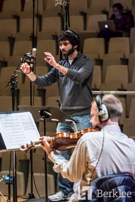 Goldman conducting
