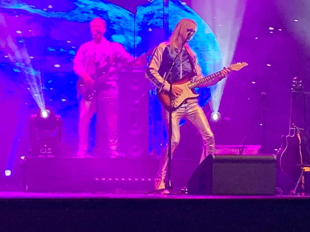 Guitarist Adam Skeppar taking centerstage