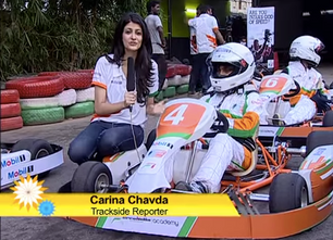 From Sports Racing to Climate Change: India'a Versatile Producer Carina Chavda