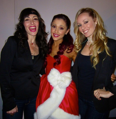 After performing with Ariana Grande