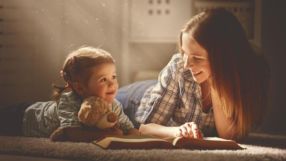 leitura com as crianças