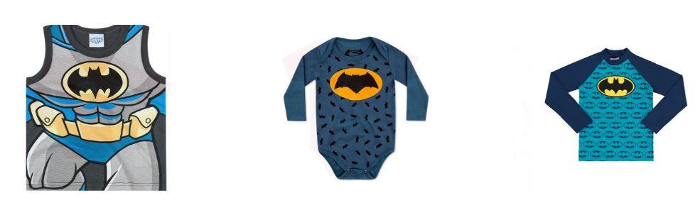 Bodies, Camisetas, Roupa Infantil do Batman