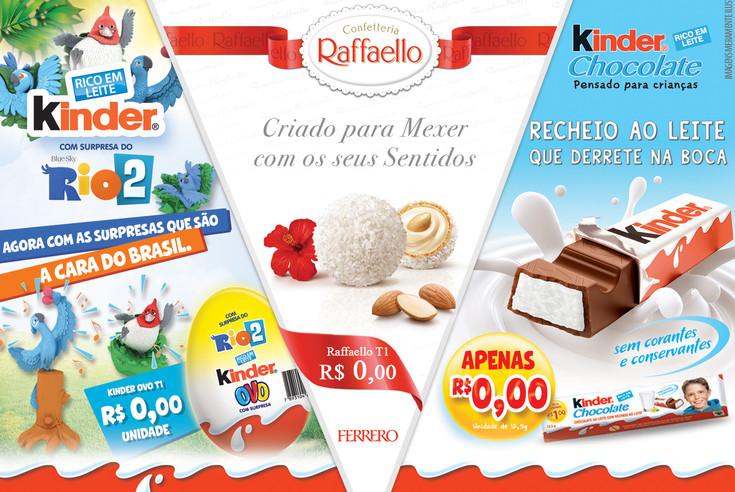 Lâminas de Venda Ferrero do Brasil