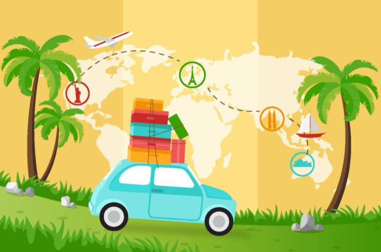 como arrumar a mala de viagem dos filhos