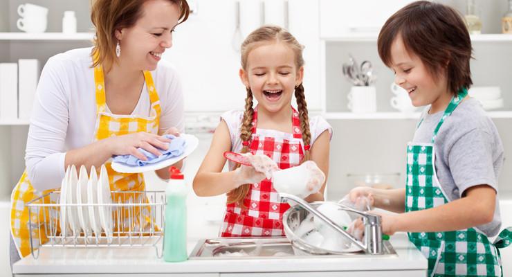 crianças e as tarefas domésticas