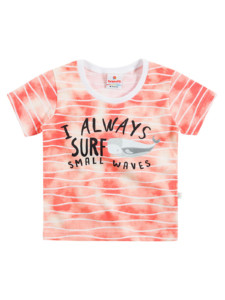camiseta surf para menino infantil