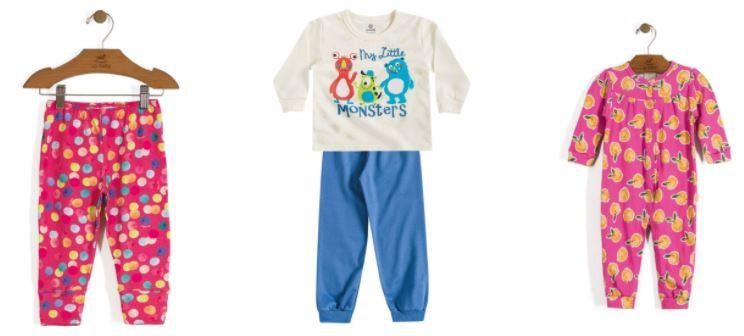 roupa de criança com estampa