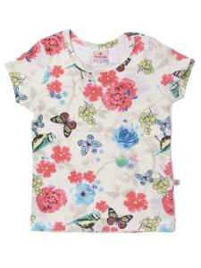 blusa infantil manga curta para menina