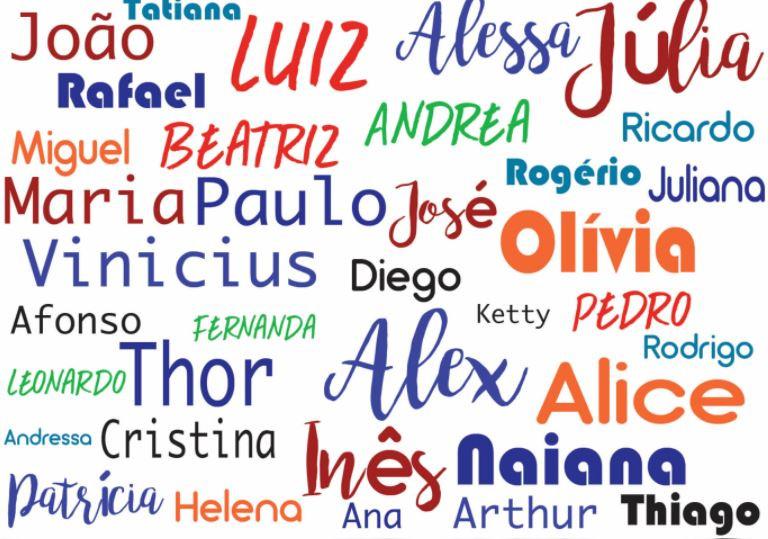 nomes para crianças