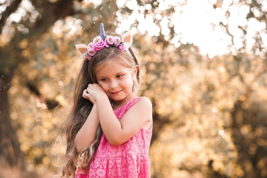O rosa na moda infantil feminina