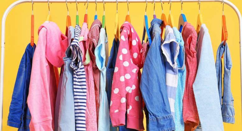 como organizar o armário das crianças