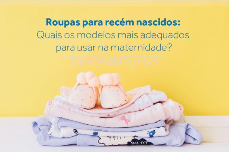 roupas para recém-nascidos