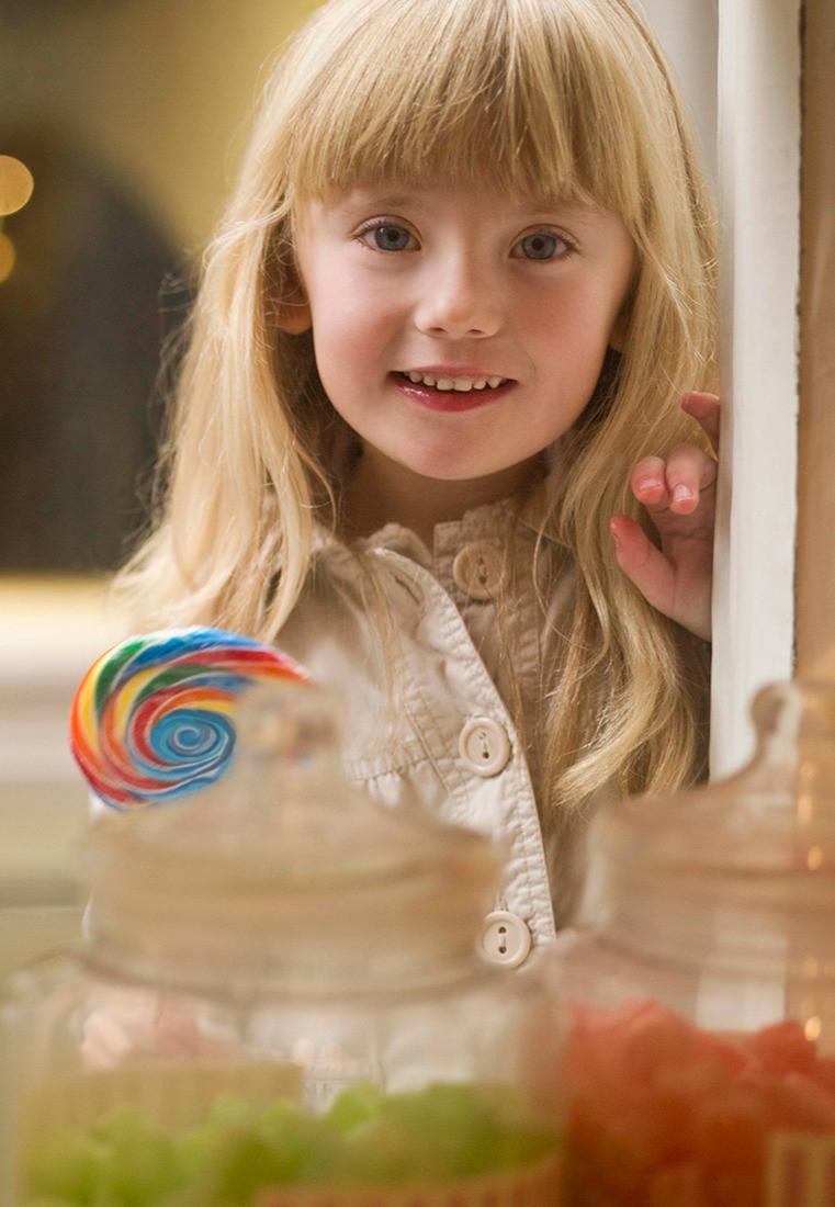 idade correta para criança comer doce