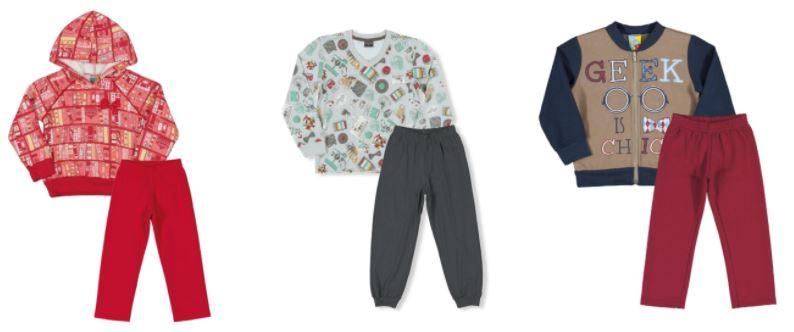 roupa de criança com estampa geek