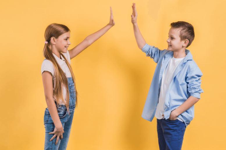 moda unissex para crianças