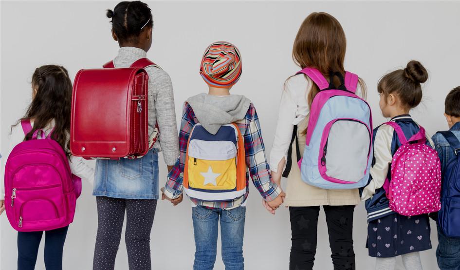 mochila para crianças