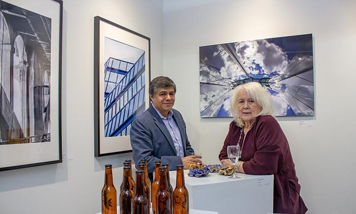 Art by Dayana Duven Milena Vasquez (right) Fredy Rivas (bottles) Josefina Rodriguez (ceramics)