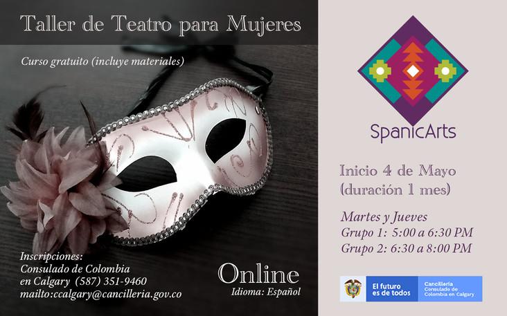 Teatro para mujeres SpanicArts