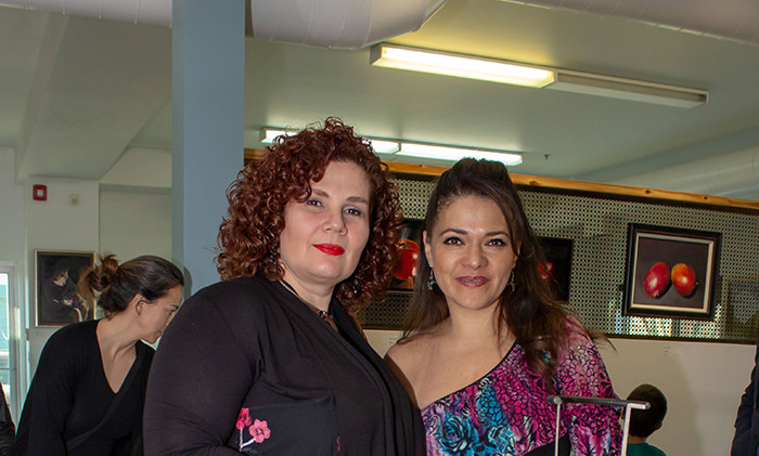 Carolina Duran and Veronica Palafox