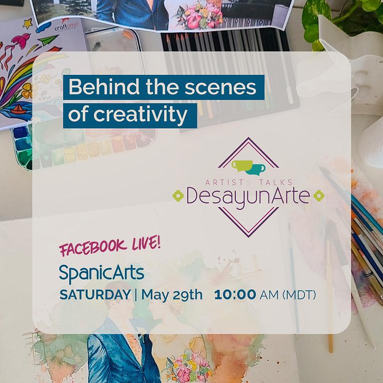 Behind the scenes of creativity