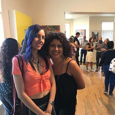 Yuli Marley y Maya Corona