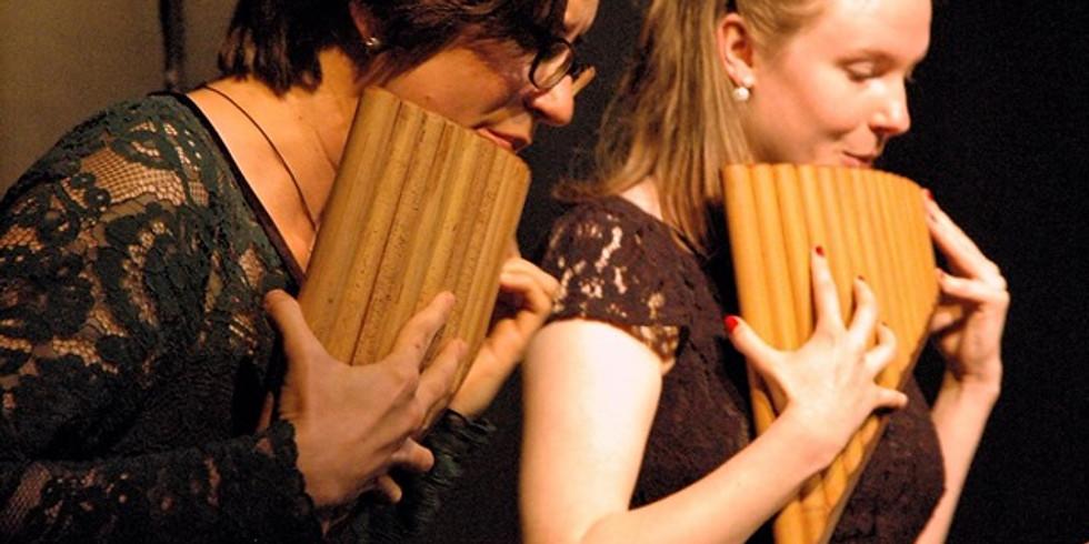 Konzert mit 2 Panflöten und Klavier