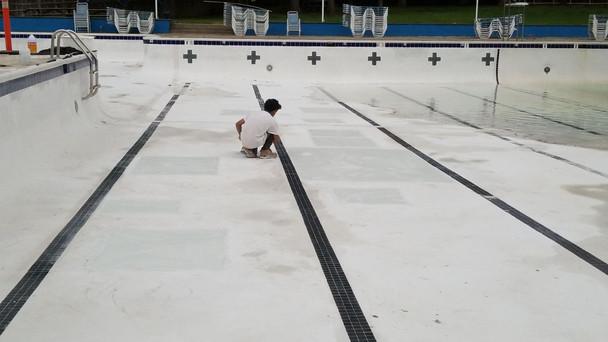 Getting ready for pool season.