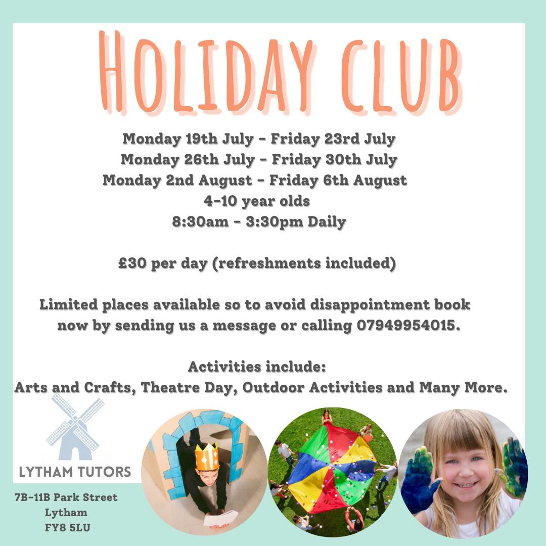 Holiday Club (One Full Week)