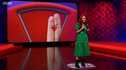 CATHERINE BOHART // MOCK THE WEEK, BBC