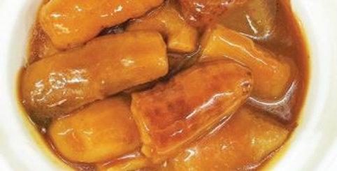 Stewed Abalone Sauce Sea Cucumber 鲍汁焖厚猪婆参