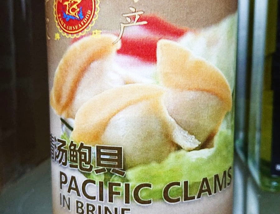 Pacific Clams 鲍贝