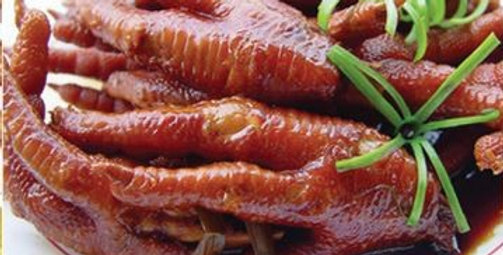 Braised Chicken Feet (CUT) 开边红烧凤爪