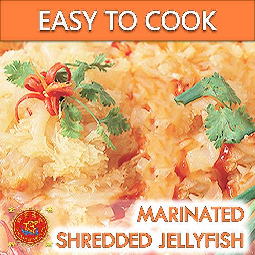 Marinated Shredded Jellyfish 发好海蜇丝 (500G)