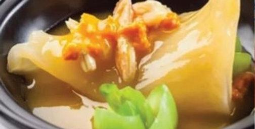 Fish Maw Fish Lip Soup 谭婆花胶鱼唇送上汤